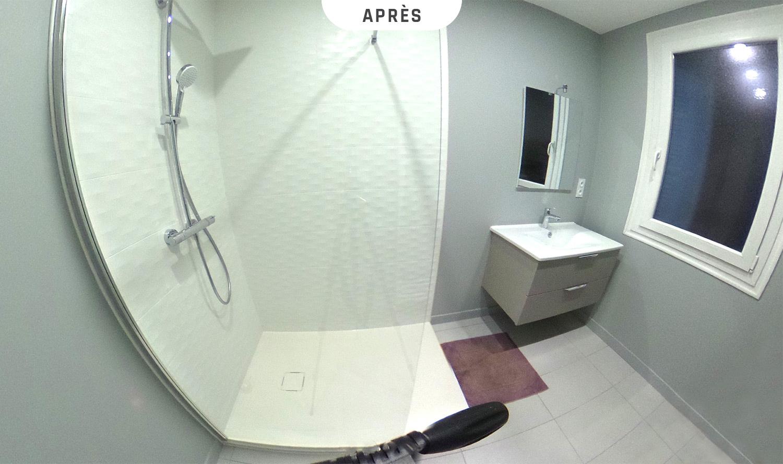 Salle de bain - Après