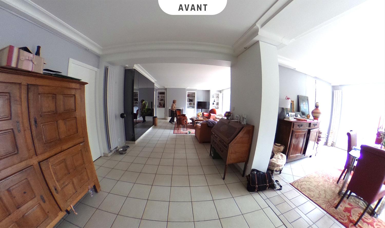Salon - Salle à manger à Sainte-Foy-Lès-Lyon - Avant