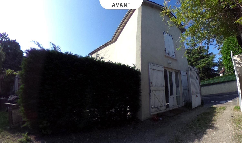 Extension d'une maison à Oullins (Rhône) - Avant