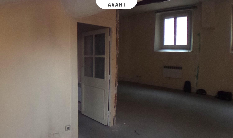Rénovation d'un appartement à La Croix-Rousse (Lyon) - Avant